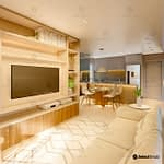 Residencial Royal sala de estar