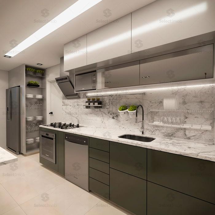Residencial Saint Denis Ribeirao Pires cozinha