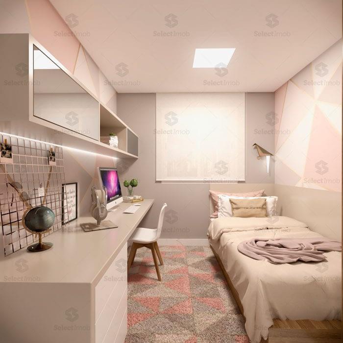 Residencial Saint Denis Ribeirao Pires dormitorio