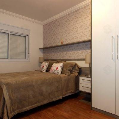 condominio das seringueiras dormitorio decorado