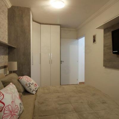 condominio das seringueiras dormitorio decorado 1